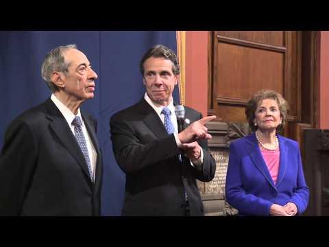 Governor Cuomo Unveils Portrait of Governor Mario Cuomo