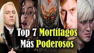 Top 7 Los Siete Mortífagos Más Poderosos