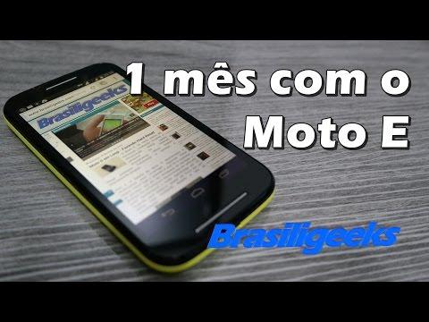 1 mês com o Moto E