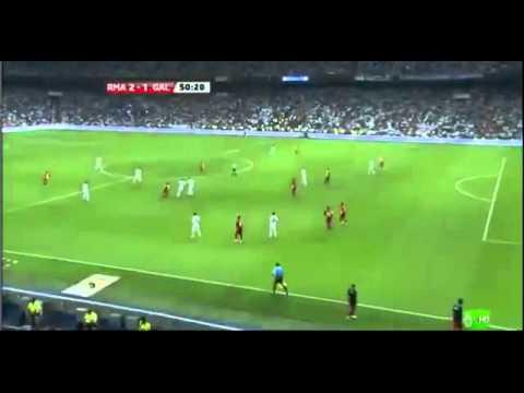 Real Madrid CF 2 1 Galatasaray   Karim Benzema goal 51  Santiago Bernabeu Cup Goal 24 8 11 HD   YouTube