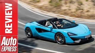 McLaren 570S Spider review - supercar roadster loses roof and little else