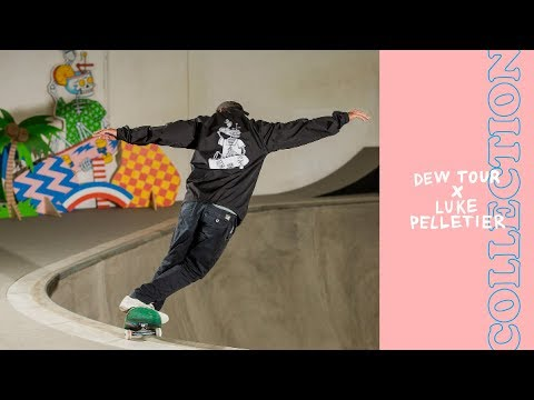 2018 Dew Tour x Luke Pelletier Merchandise Collection