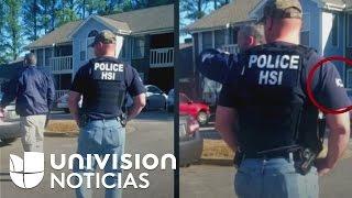 Denuncian que agentes de ICE en Alabama usan autos encubiertos y no llevan insignias en uniformes