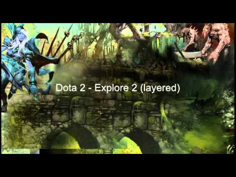 Dota 2 - Explore 2 (2 layers)