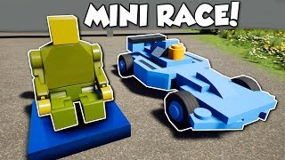 MINI LEGO RC RACE!? - Brick Rigs Multiplayer Gameplay - Mini RC Race & Crashes!