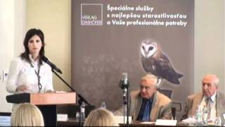 """Verlag Dashöfer - Ukážka z konferencie """"Zmluvy v podnikateľskom sektore"""""""