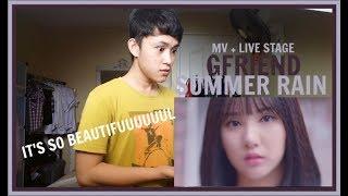 GFRIEND(여자친구) - Summer Rain(여름비) MV + LIVE STAGE REACTION