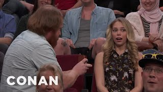 The First Marriage Proposal On CONAN  - CONAN on TBS