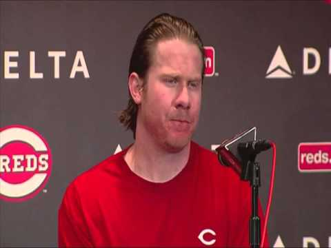 Homer Bailey and Ryan Hanigan on no-hitter