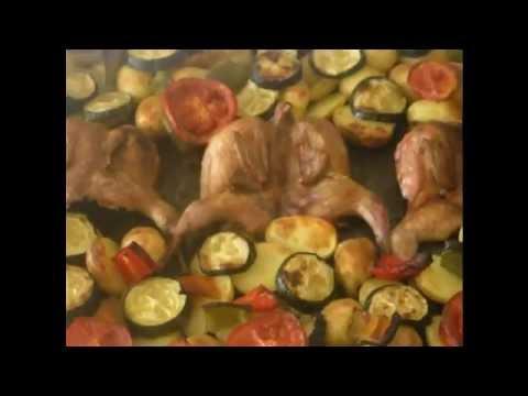 Куропатка гриль с картошкой
