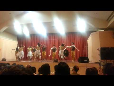 batch 28 interbatch- non classical indian group dance