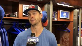Jacob deGrom Talks Shutout Win Over L.A.