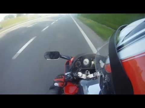 Honda VFR 800  European Tour 2013