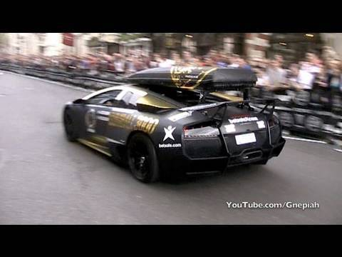 The start of the 2010 Gumball 3000 Rally! - Pall Mall, London Video Download