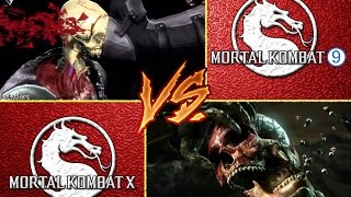 MK 9 X- RAY VS MK X X-RAY. MY OPINION :-) . VOTE, COMMENTS BELOW. HD