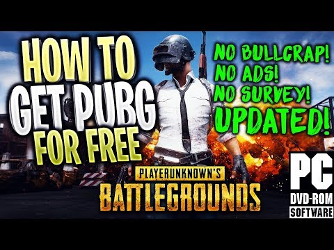 How To Get PUBG + Multiplayer! for FREE Crack! NEW! (STILL WORKS! 2018 - 2019) ALL VERSIONS!