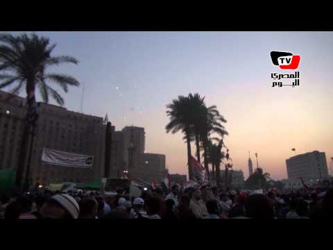 Tahrir Square celebrates after Morsy announced president