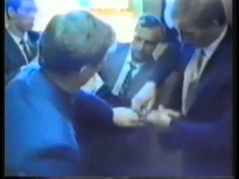 Footage of Dmitri Polyakov's arrest by the KGB