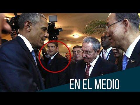 Un guardaespaldas muy metiche: el nieto de Raúl Castro (HUMOR)