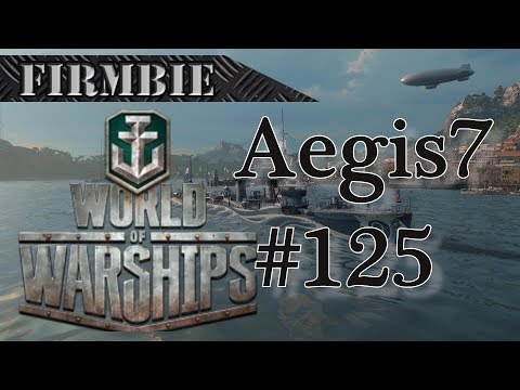 World of Warships game play with Aegis7 * dead as a door nail*