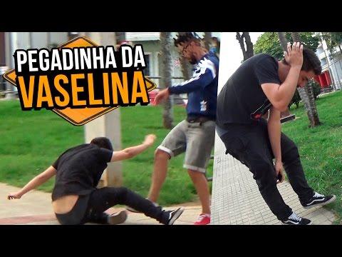Pegadinha Da Vaselina (dando Muito Errado) - Stupidshow video