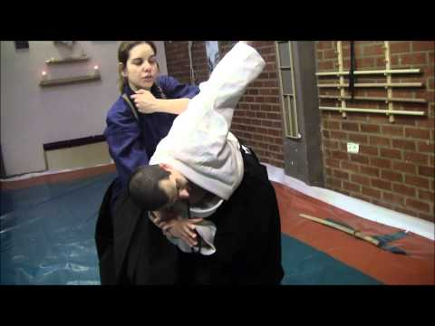 Ogawa Ryu - Aikijujutsu Class Moments - Juliana Galende - 2014