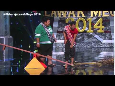 Maharaja Lawak Mega 2014 - Minggu 12 Bocey (2)
