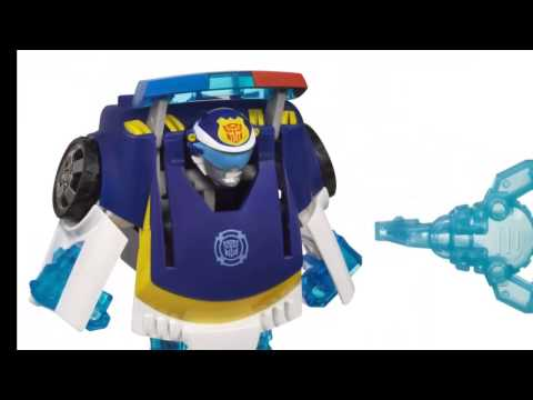 The Best 5 -- Playskool Heroes Transformers Rescue Bots