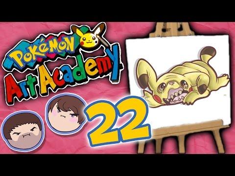 Pokemon Art Academy: Sacre Bleu! - PART 22 - Grumpcade
