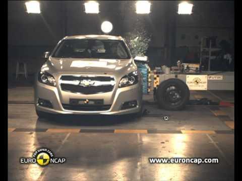 Euro NCAP | Chevrolet Malibu | 2011 | Краш-тест