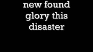 Watch New Found Glory This Disaster video