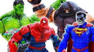 ĐỒ CHƠI SIÊU NHÂN NGƯỜI NHỆN Đại Chiến | SPIDER MAN vs SUPER MAN - Câu Chuyện Đồ Chơi