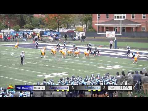 2014-10-04 Elmhurst College Football vs Augustana College