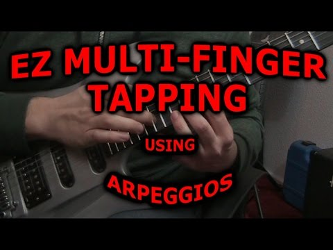 Lesson Guitar - Michael Romeo Tapping Mechanics