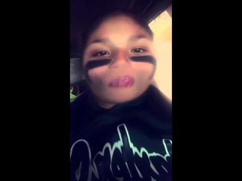 Snapchat video grand daughter being silly