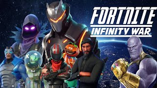 FORTNITE AVENGERS: Infinity War - New GAME mode ? Short Film Mashup [ #Replays ]