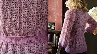 #25 Kimono Style Cardi, Vogue Knitting Crochet 2013 Special Collector