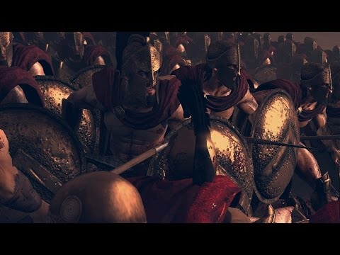 Rome 2 Total War Lets Compare Units in Battle. # 90 The 300 vs Leonidas and the 300