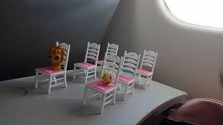 Приключения LPS Пет Шоп Littlest Pet Shop в самолёте Пет Шоп LPS летят на отдых
