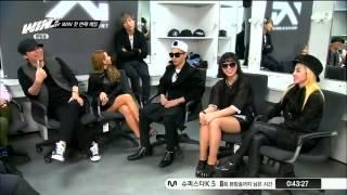 [ENG SUB] Big Bang and 2NE1 Judges in WIN