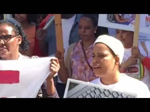 Ethiopians protest against Norway cooperation with Ethiopian government