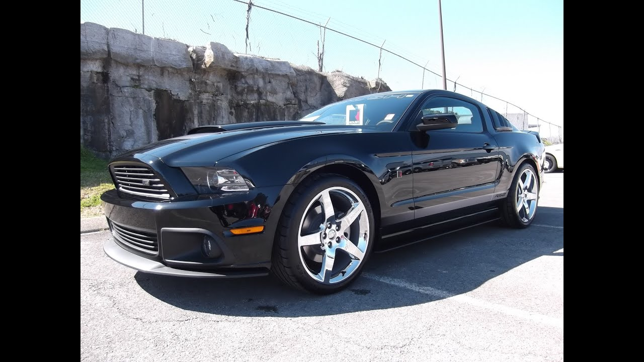 2014 Roush Stage 2 Ford Mustang Black 11 301a At Ford Of