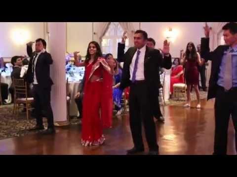 Surprise Wedding Reception Entrance Dance - Bollywood Mix