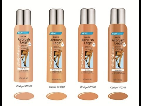 Sally Hansen Airbrush Legs Tan Glow How To/Review