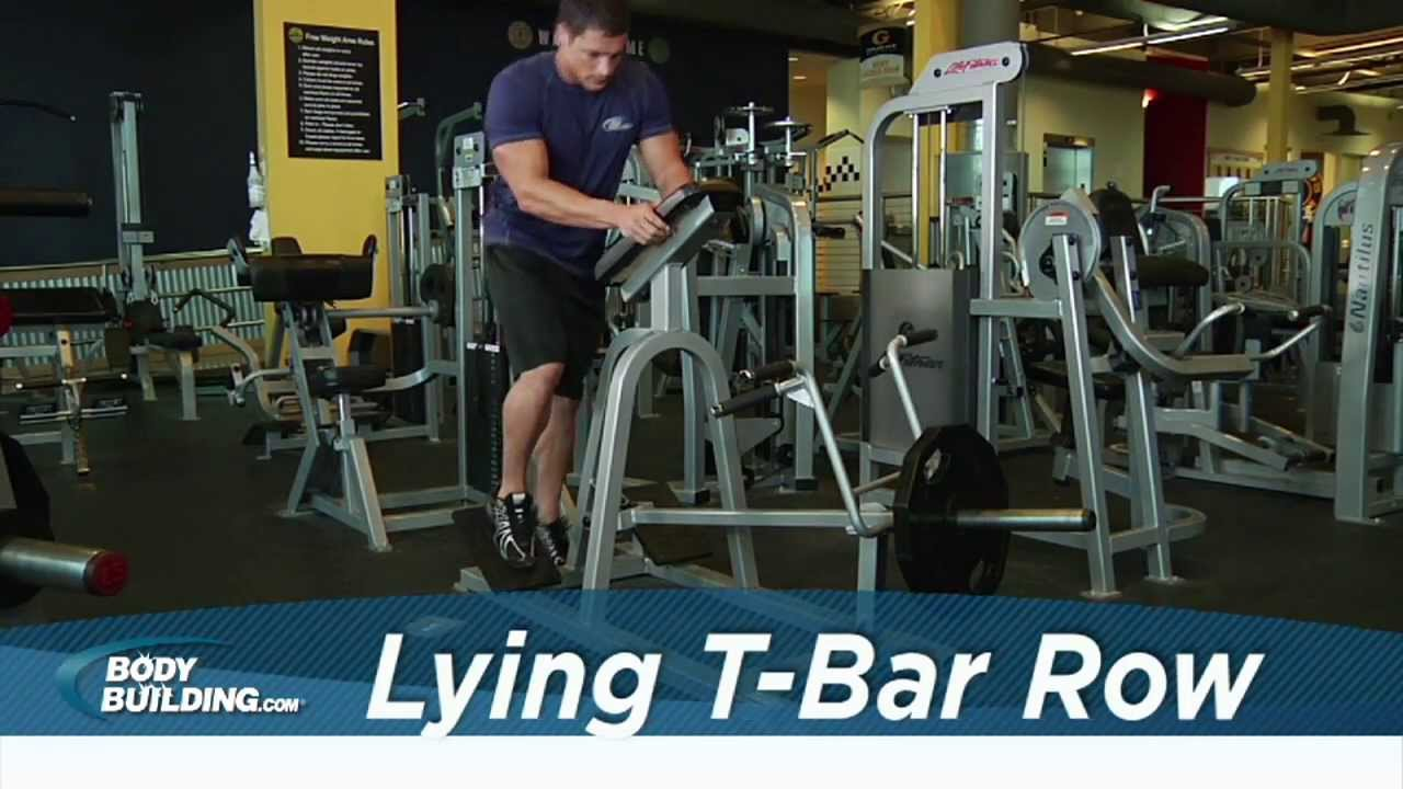 Lying T-Bar Row - Back...T Bar Rows