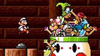 Super Mario Bros. X (SMBX 1.4.3) - All Koopaling Boss Battles | NPC Pack #4
