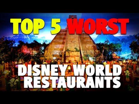Top 5 Worst Restaurants at Disney World   DIS Unplugged Minisode