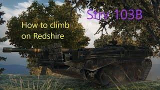 How to climb on Redshire // World of Tanks - Strv 103B  // 3rd MoE  - 11,5k dmg, 7 kills