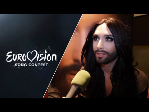 Conchita Wurst: 'The whole country is so excited!'