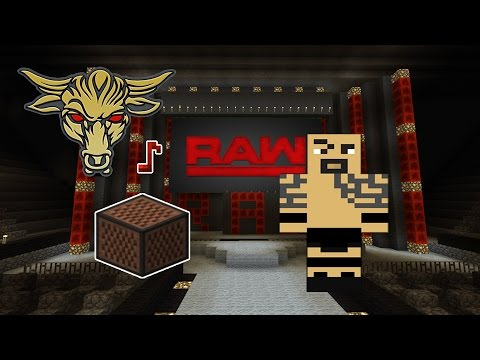 WWE The Rock Theme Song - Minecraft Note Block Remake